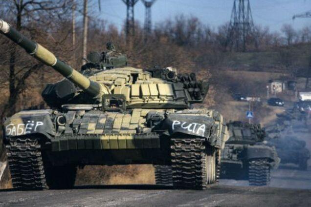 Танки России на Донбассе