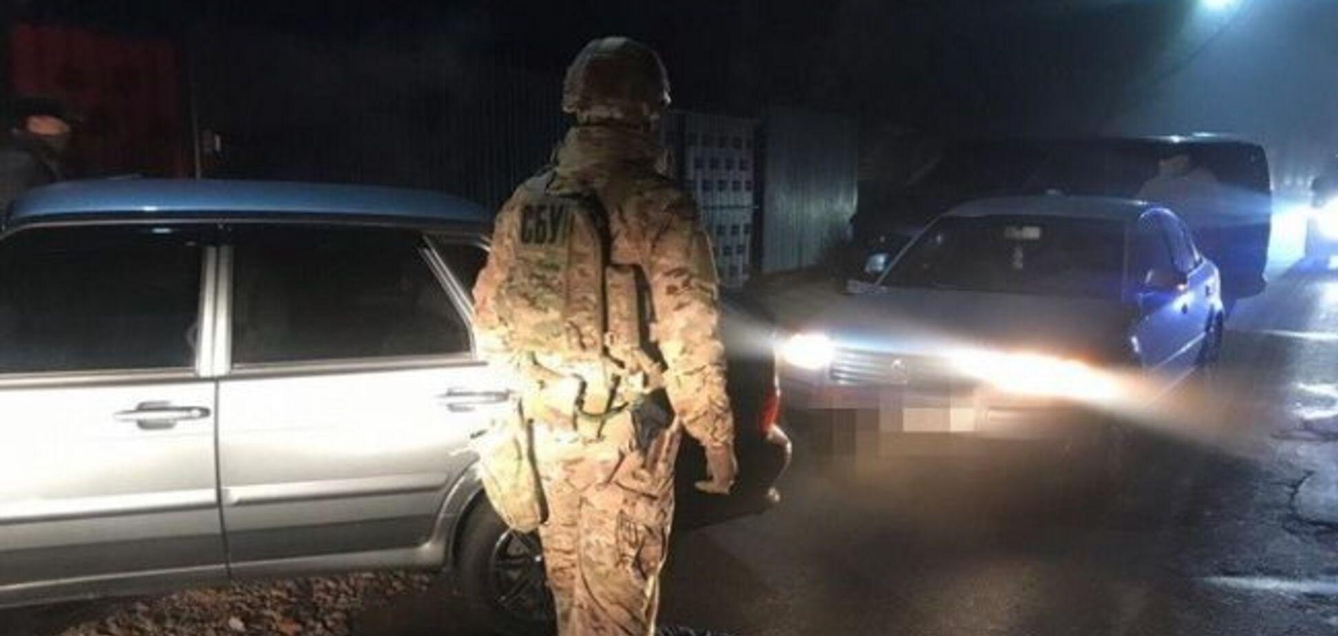 Под Киевом накрыли банду наркоторговцев. Источник: ssu.gov.ua