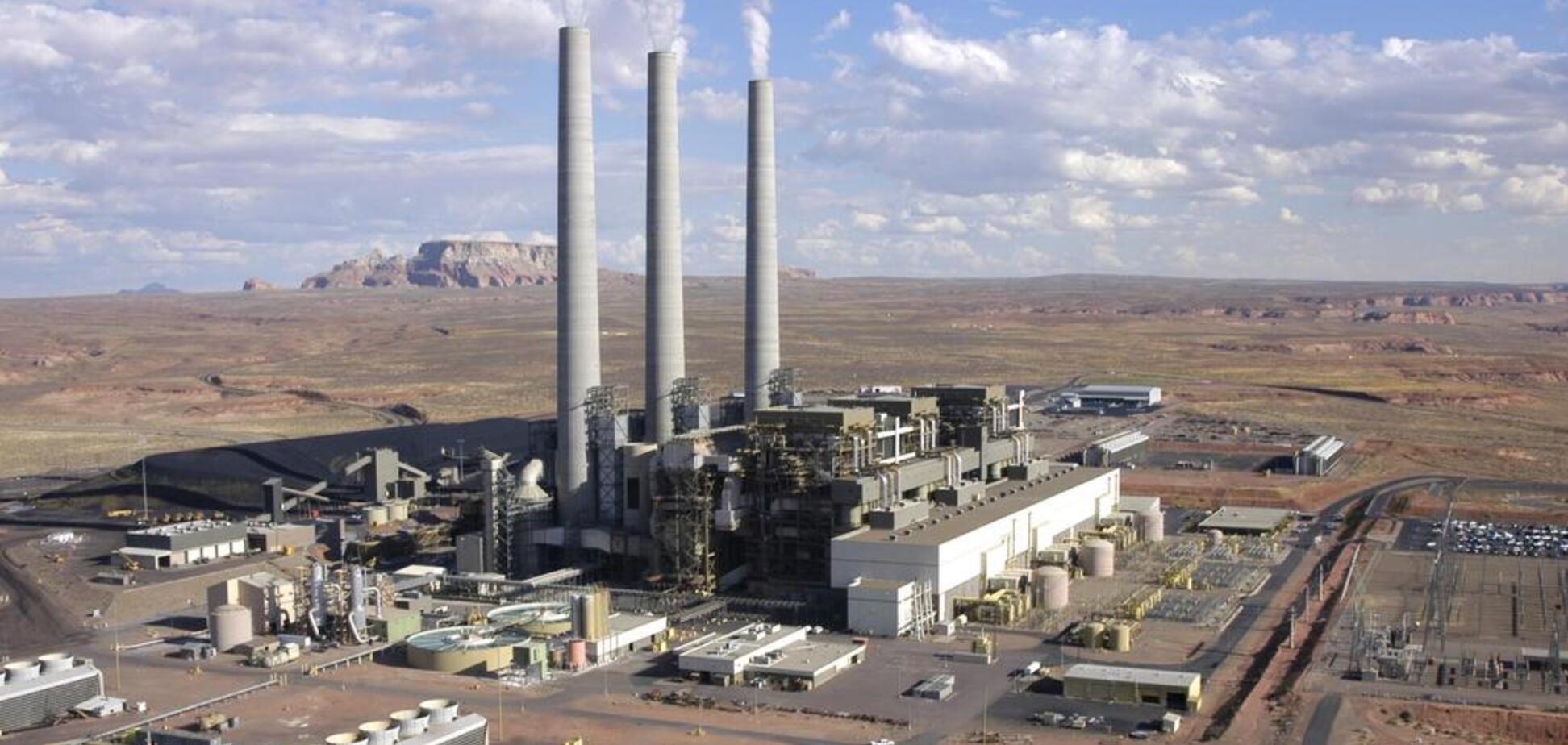 У США закрили найбільшу вугільну електростанцію: фото