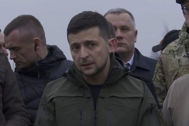 Зеленский прибыл в Станицу Луганскую