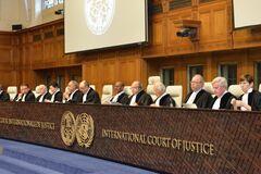 Суд ООН выдвинул ультиматум России из-за Украины