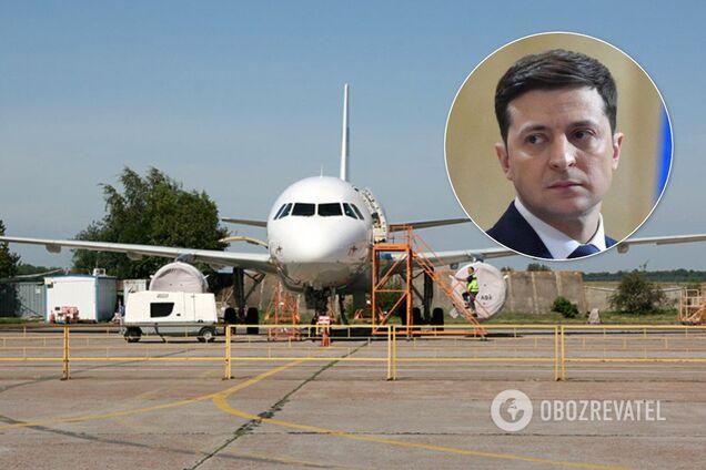 Із літаком Зеленського трапилася серйозна НП