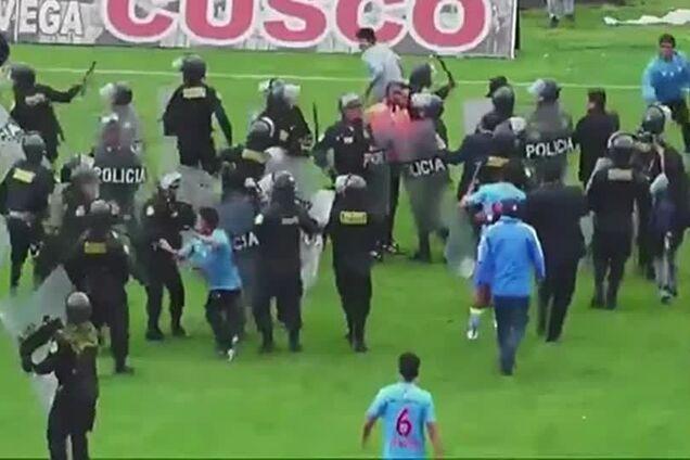 Поліція проти уболівальників