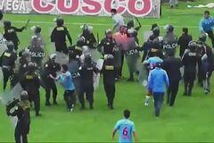 Полиция против болельщиков