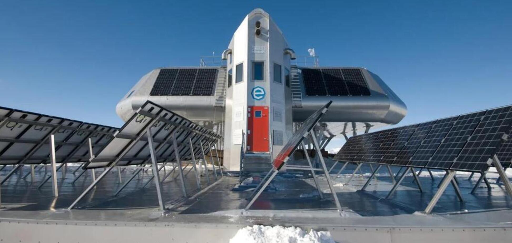 Вчені показали, як в Антарктиді виживає унікальна станція на 'зеленій' енергії: фото і відео