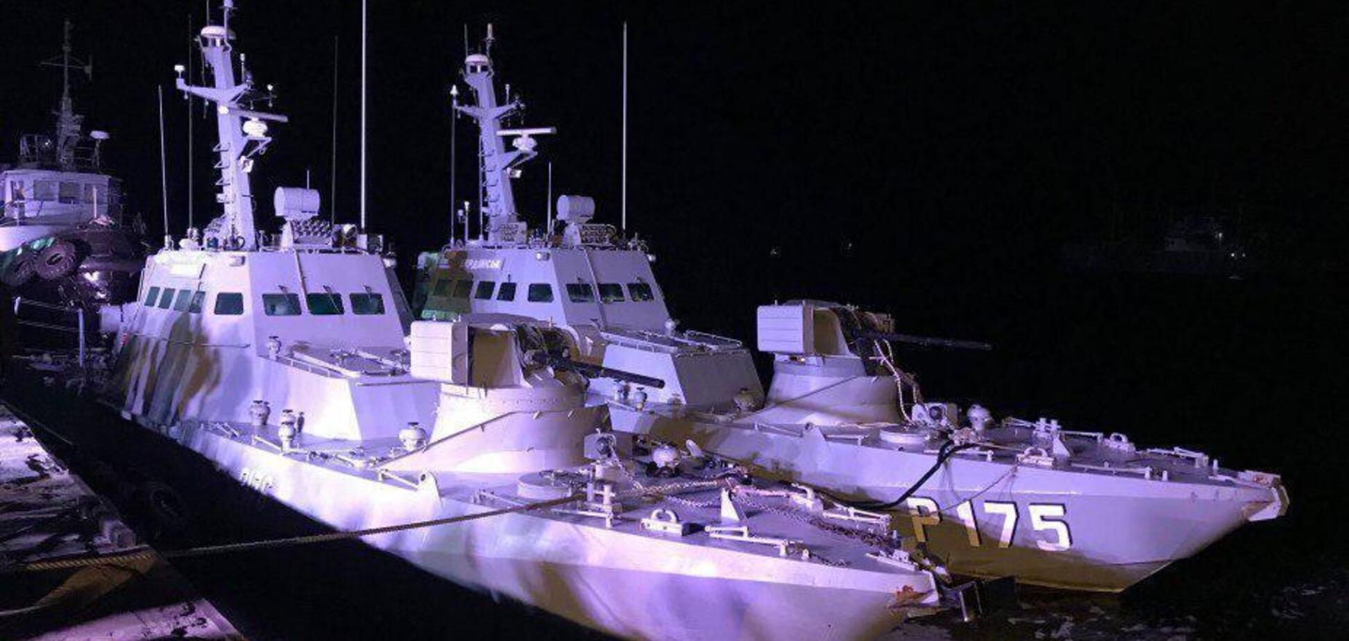 Страшный тюнинг орды: возвращенные украинские корабли показали изнутри