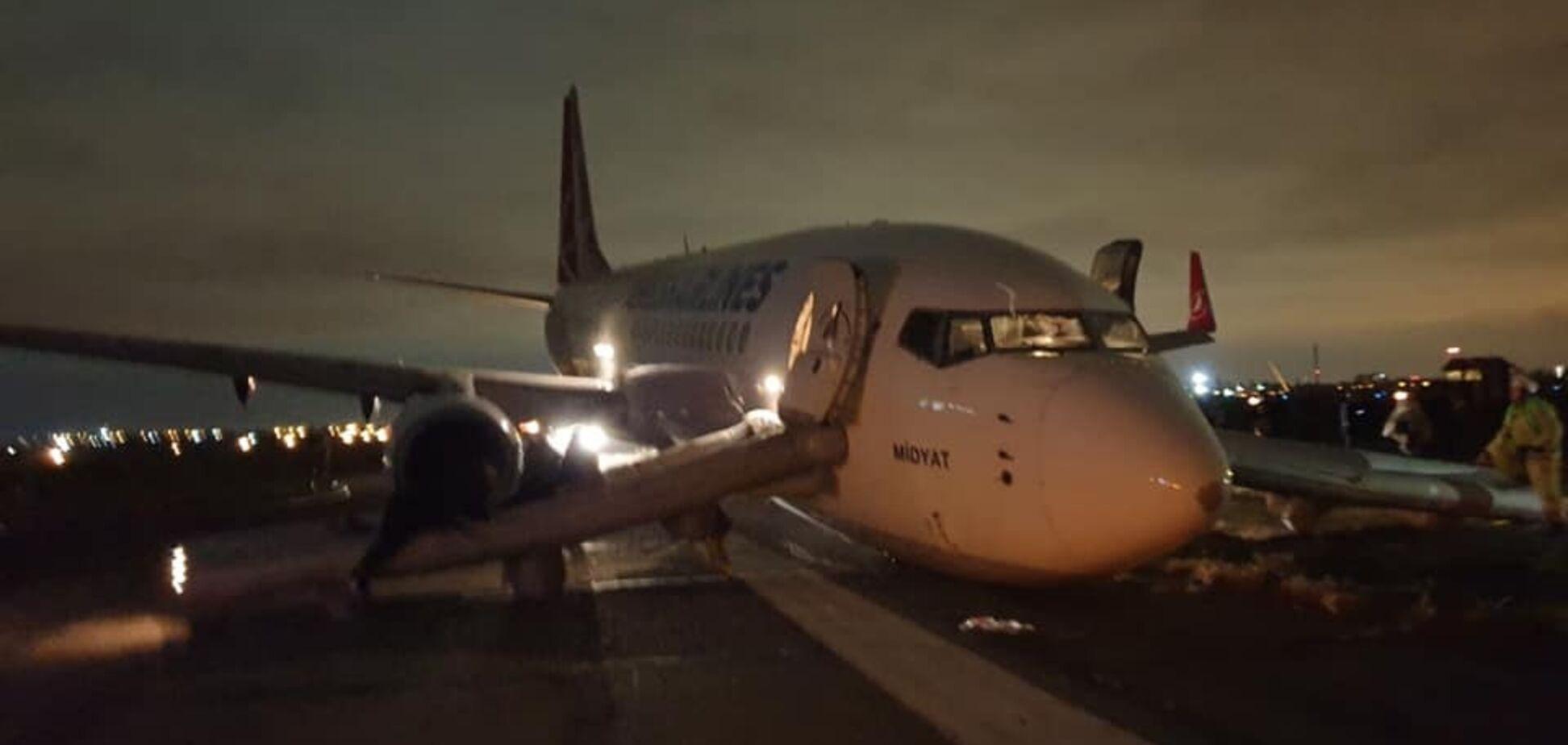 В аэропорту Одессы произошло новое ЧП с самолетом