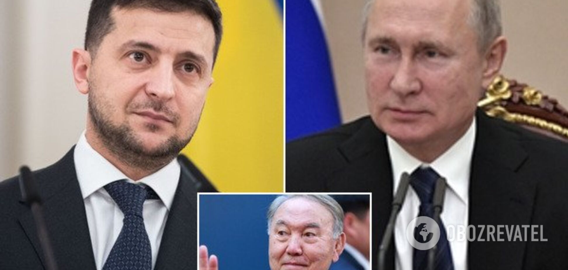Зеленский прояснил, что предлагал Назарбаев по встрече с Путиным