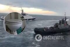 Унітази на місці: в Росії огризнулися на грабіж українських кораблів
