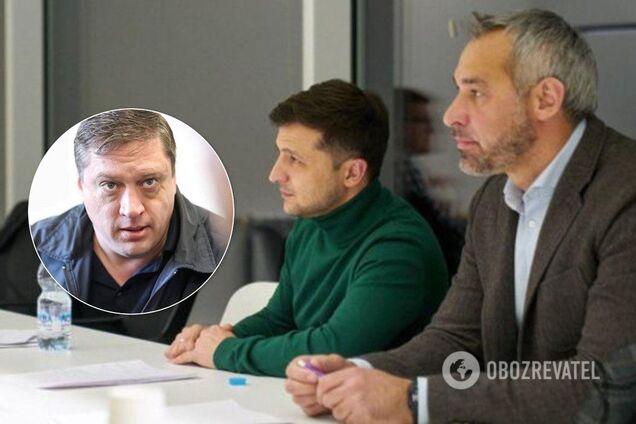 Рябошапка и Зеленский отреагировали на скандал с Иванисовым