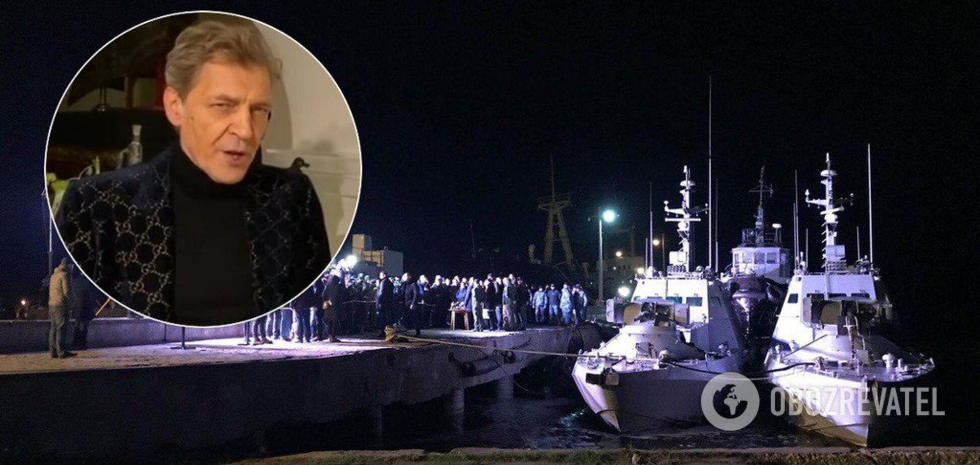 Александр Невзоров и возвращенные корабли