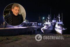 Олександр Невзоров і повернуті кораблі