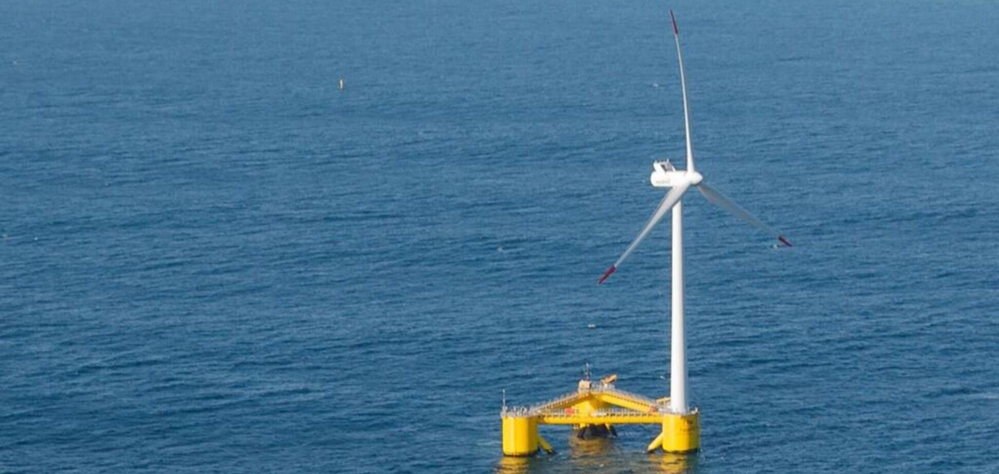 У Європі встановлять найбільшу в світі плавучу вітроелектростанцію