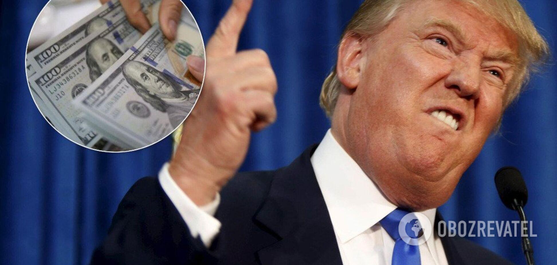 Над США нависла угроза денежного коллапса: Трамп пошел на решительные меры