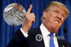 Над США нависла загроза грошового колапсу: Трамп зважився на рішучі заходи