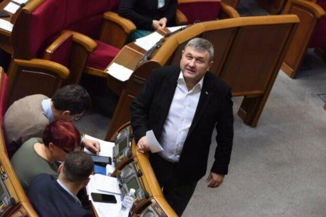 Литвиненко виявився пов'язаний з тітушками