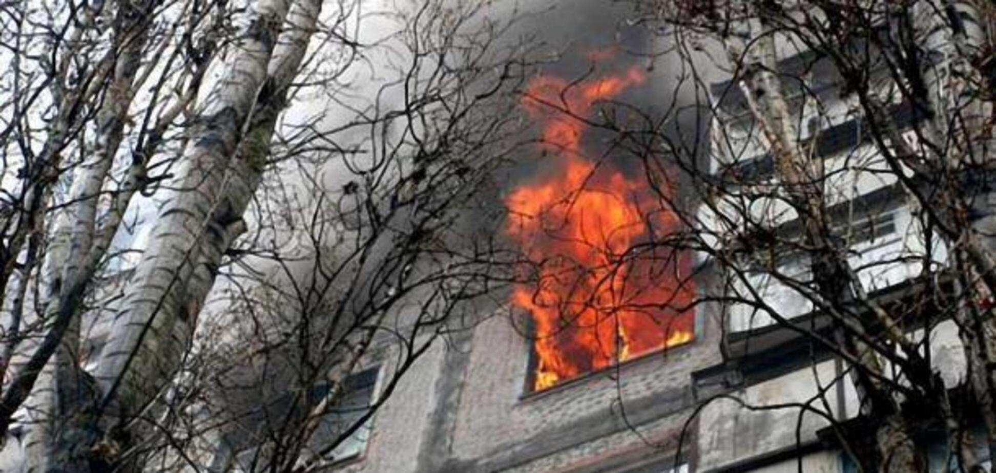 Под Днепром вспыхнуло общежитие: есть пострадавшие