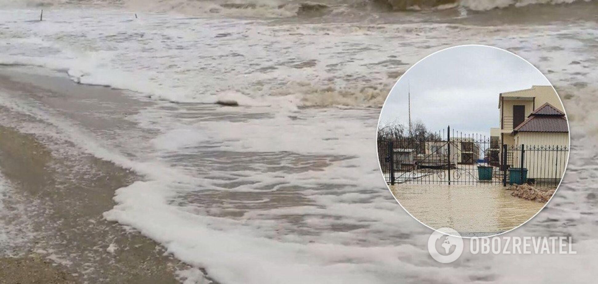 Українські курорти йдуть під воду: опубліковані шокуючі фото і відео наслідків