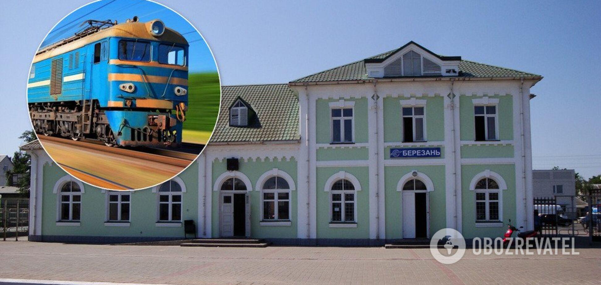 На Киевщине поезд насмерть сбил женщину