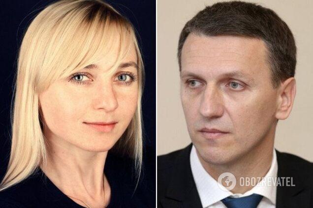 Александра Устинова и Роман Труба