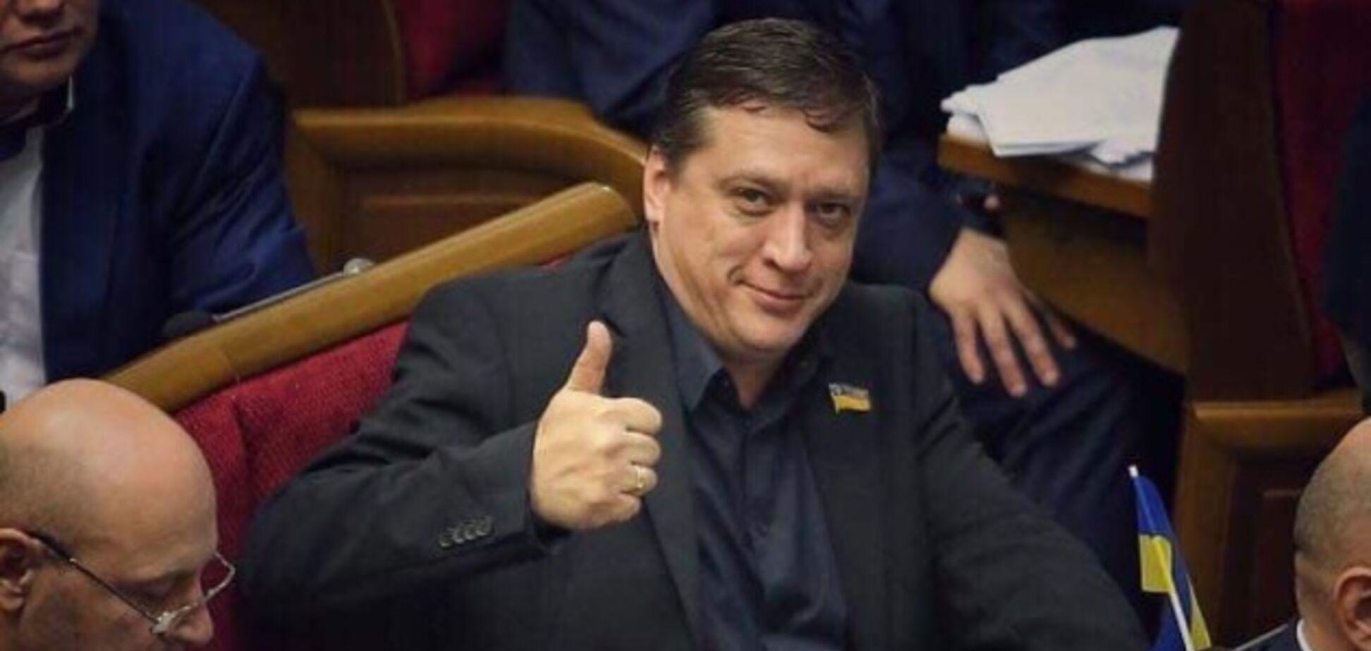 Іванісов має скласти мандат народного депутата України!
