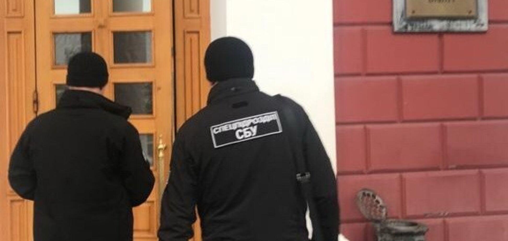 В мэрии Одессы прошли обыски