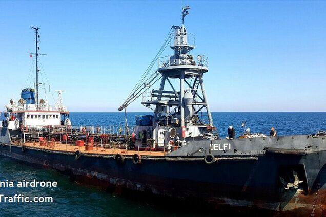 Молдавское судно Делфи