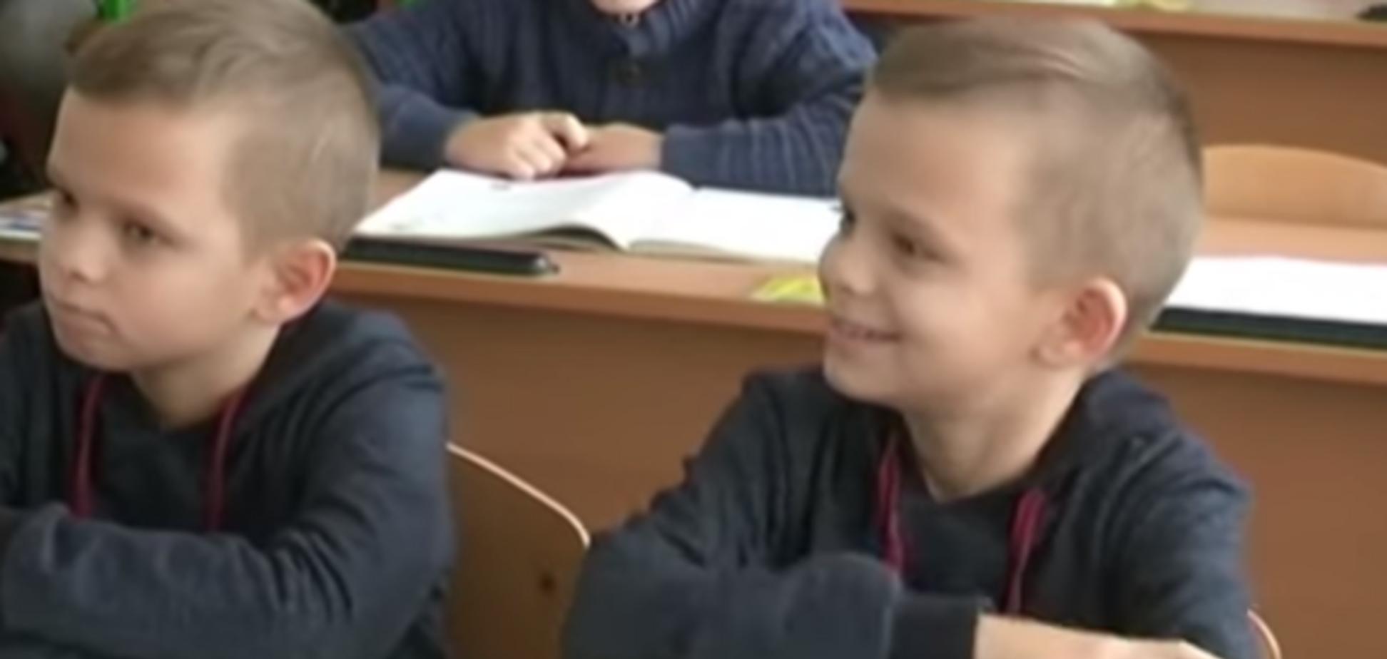Калькулятор в голове! 10-летние близнецы с Полтавщины поразили мир