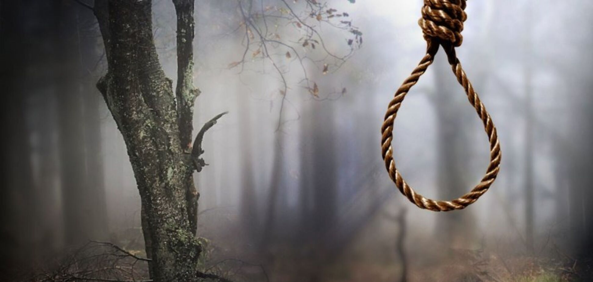 Висел на дереве: в Кривом Роге на улице нашли труп мужчины