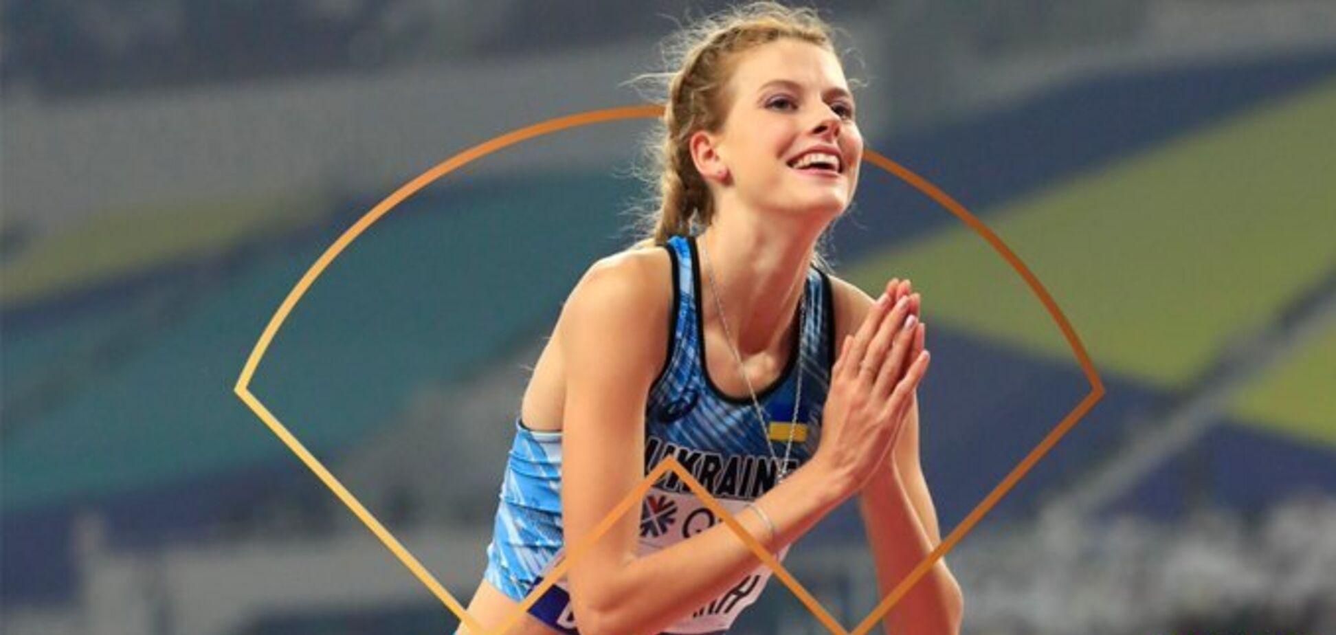 Красуня-українка визнана 'Висхідною зіркою' легкої атлетики