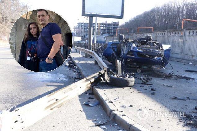 ДТП с Porsche в Киеве и Владислава Евтягина с отцом