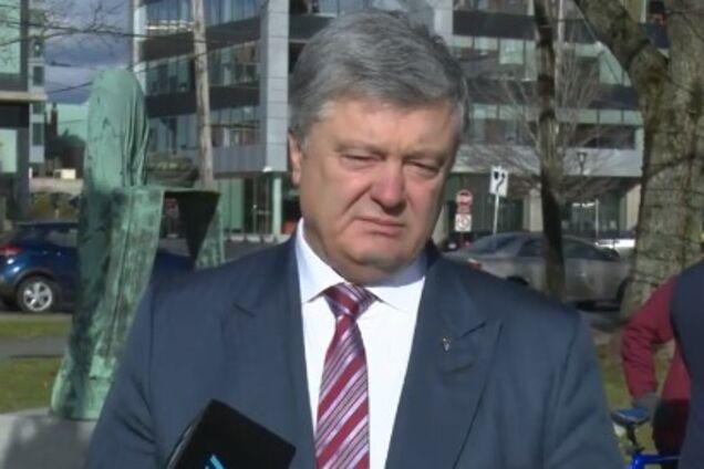 Петро Порошенко виступив у Канаді