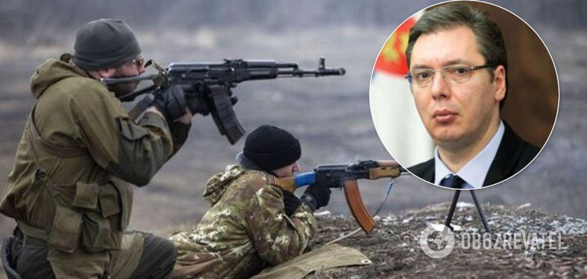 Нарываются на Путина: Сербия призналась, что ее оружие ушло на Донбасс