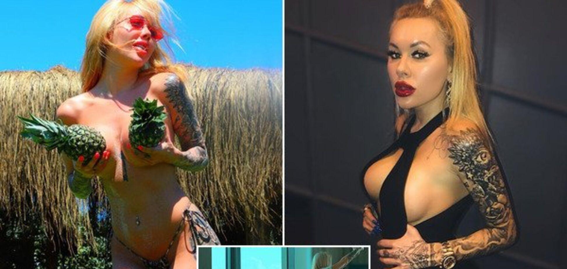 Дружина екскапітана 'Динамо' роздяглася і виклала відверті фото в мережу