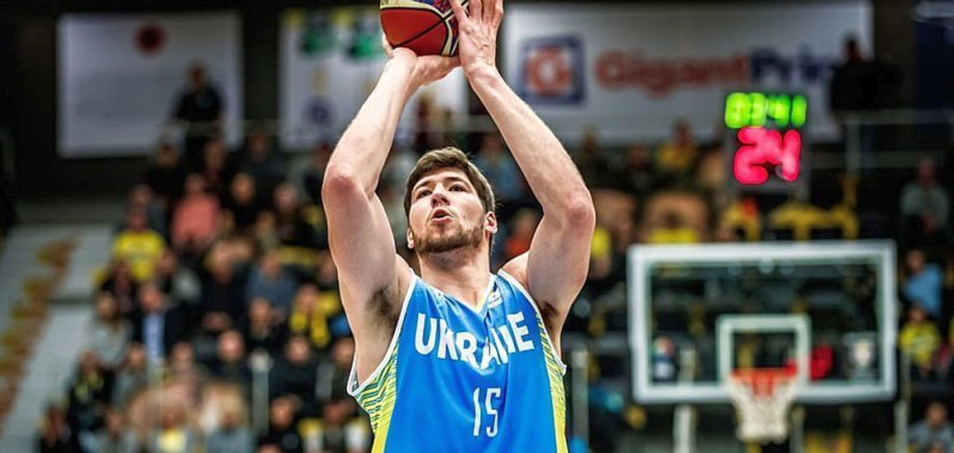 Капитан сборной Украины по баскетболу продолжит карьеру в Азии