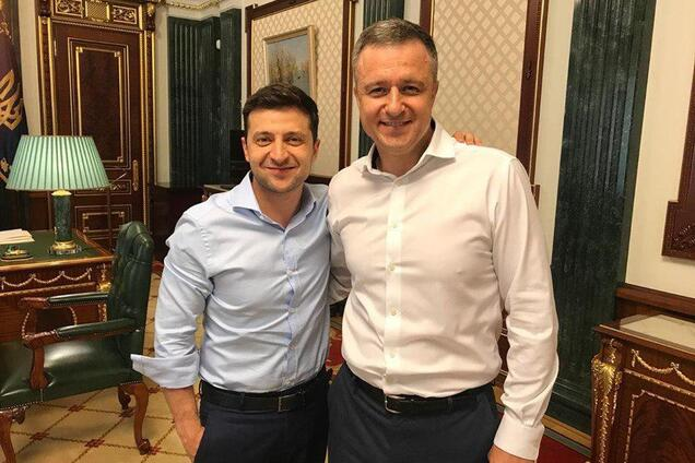 Володимир Зеленський і Микола Кулеба