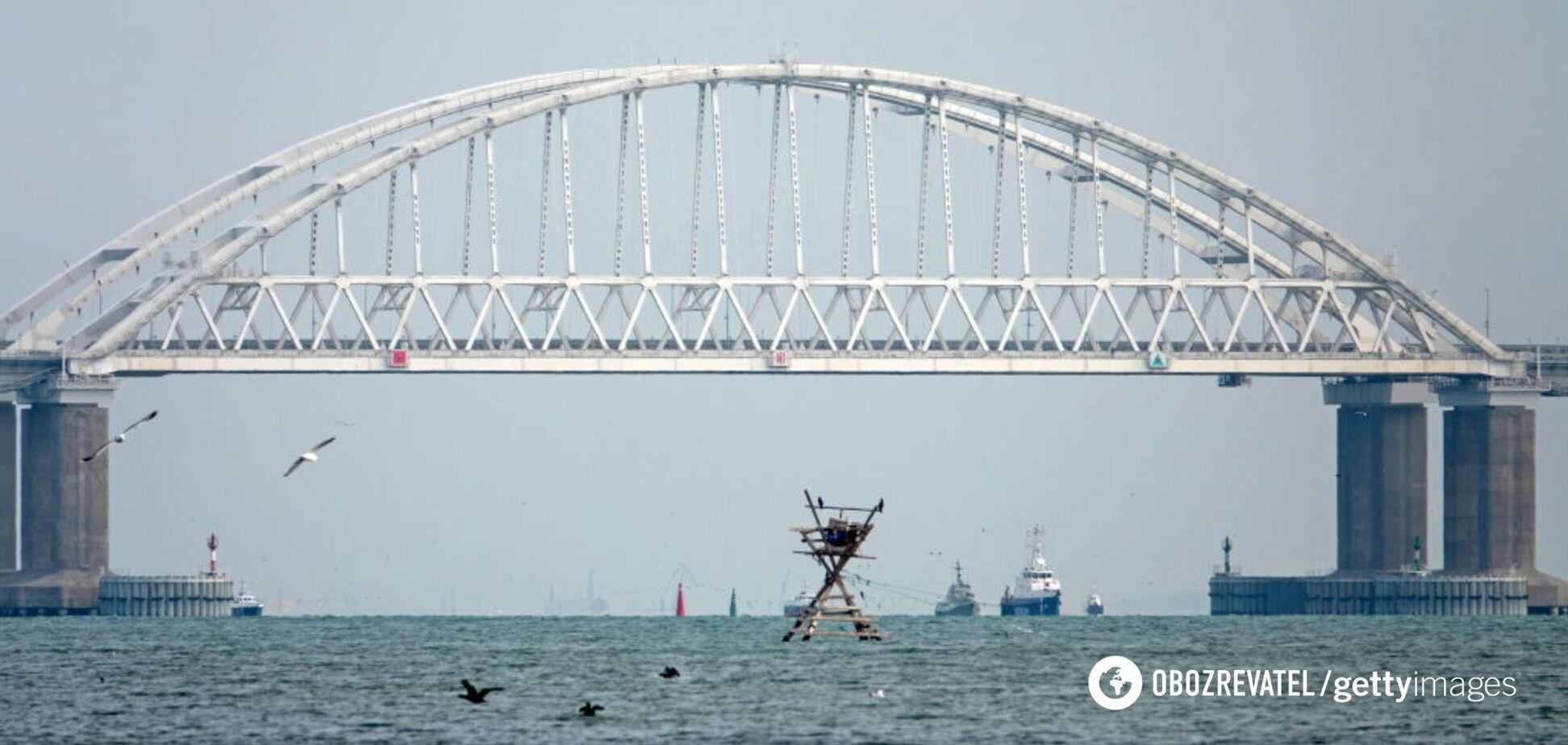 'Логістика війни': розкрита справжня мета Кримського мосту