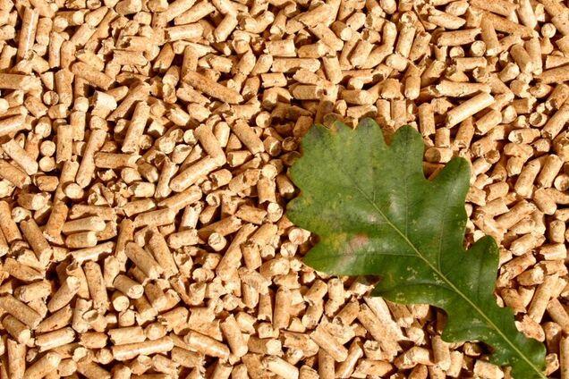 Древесные топливные гранулы (пеллеты)