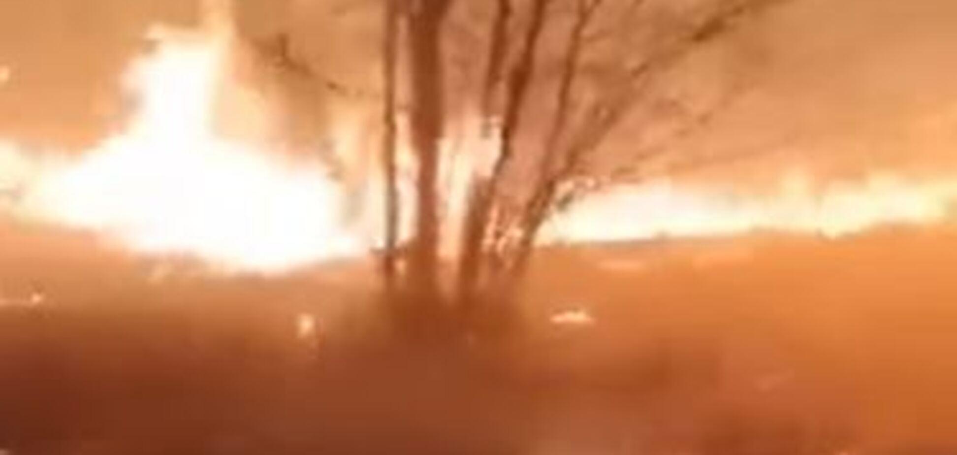 'ДНР' устроили огненный ад жителям Донбасса: жуткое видео