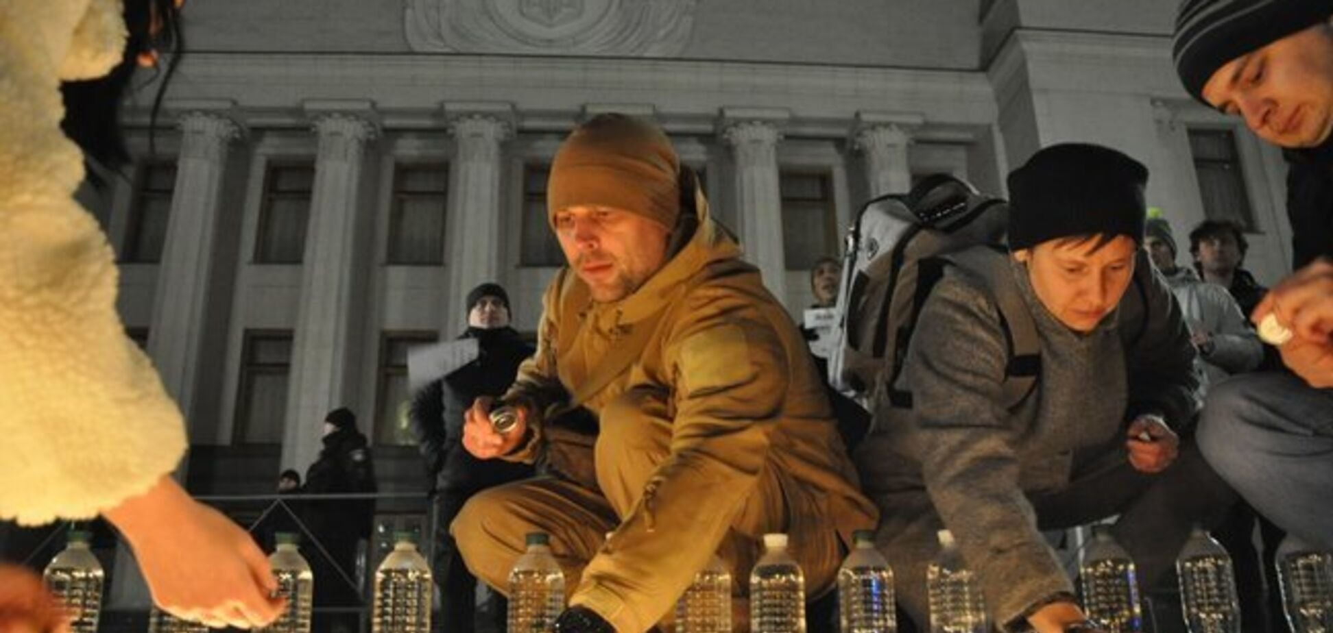 Под Радой устроили акцию поддержки голодающей Закревской