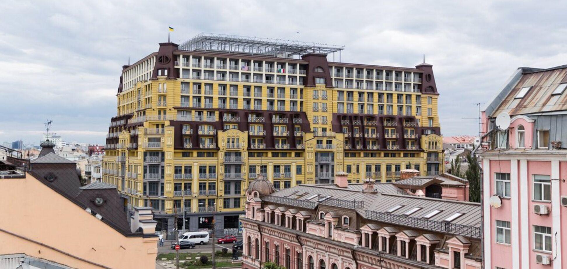 У Києві суд дозволив знести зайві поверхи 'будинку-монстра'