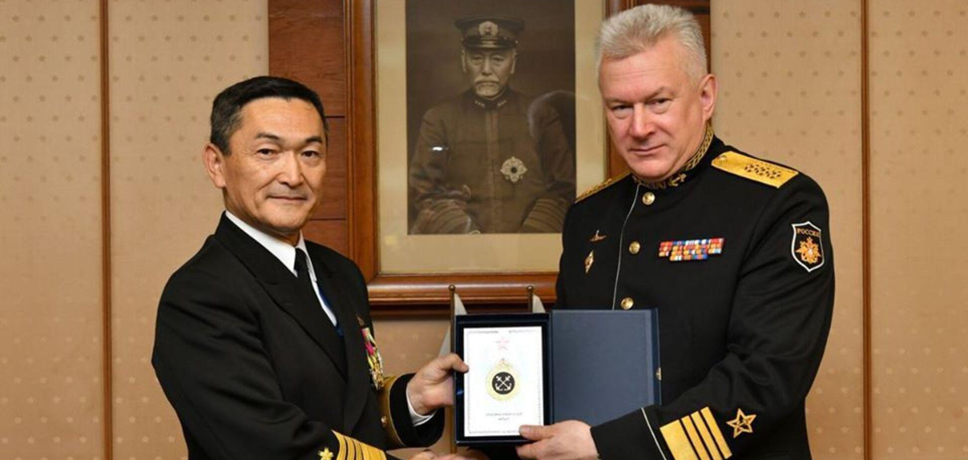 Командувачі ВМФ Японії та Росії
