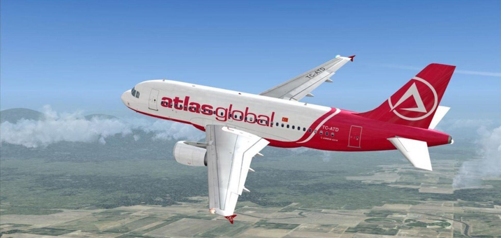 Авіакомпанія Atlas Global призупинила рейси до Одеси