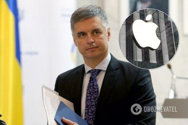 """Україна поставила Apple на місце через """"російський"""" Крим"""