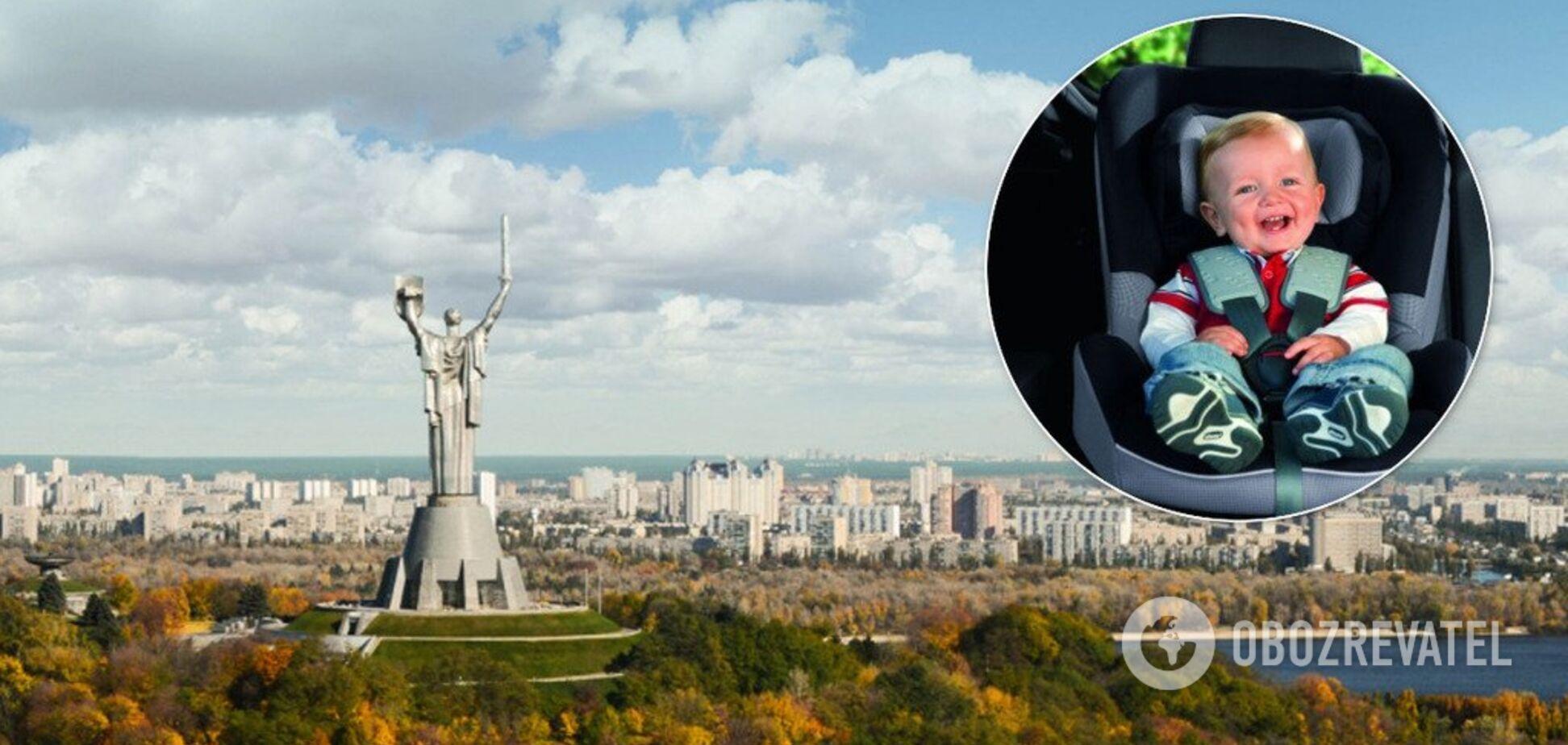 У Києві спіймалися перші порушники нового закону про перевезення дітей