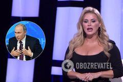 Звезда из РФ рассказала, как кинула в Путина туфлей