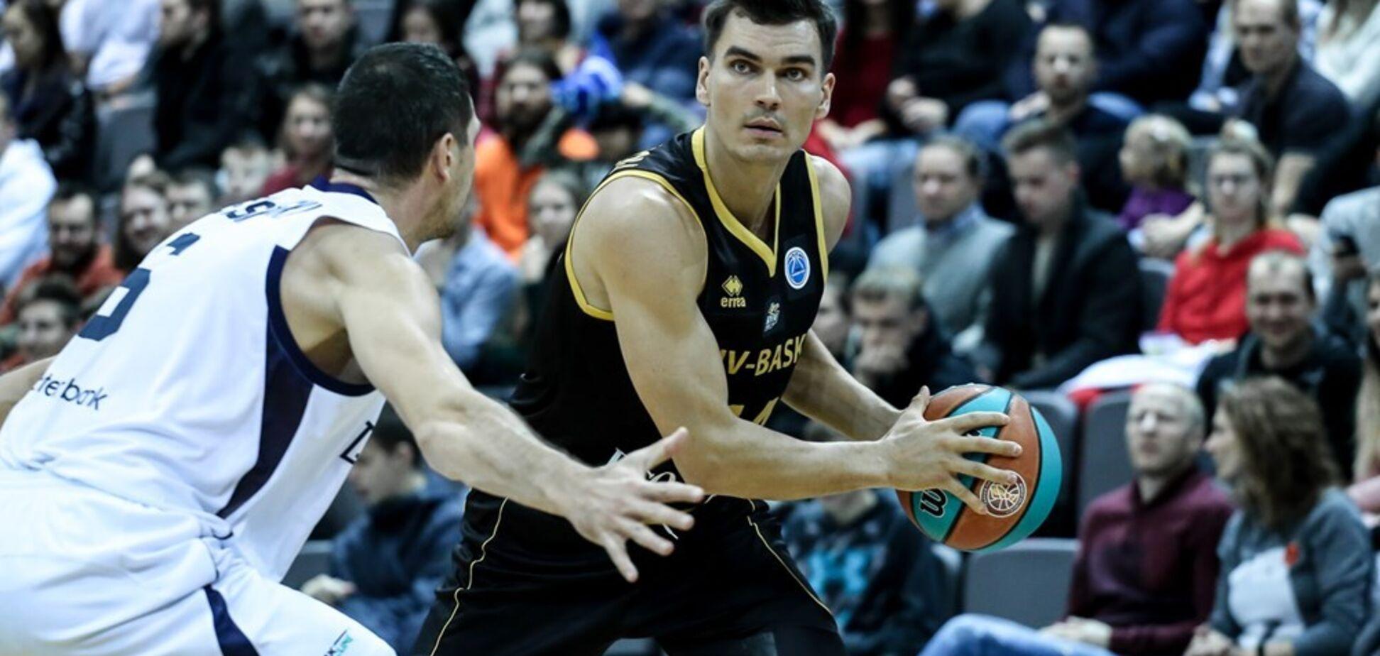 'Київ-Баскет' виграв груповий етап у Кубку Європи ФІБА