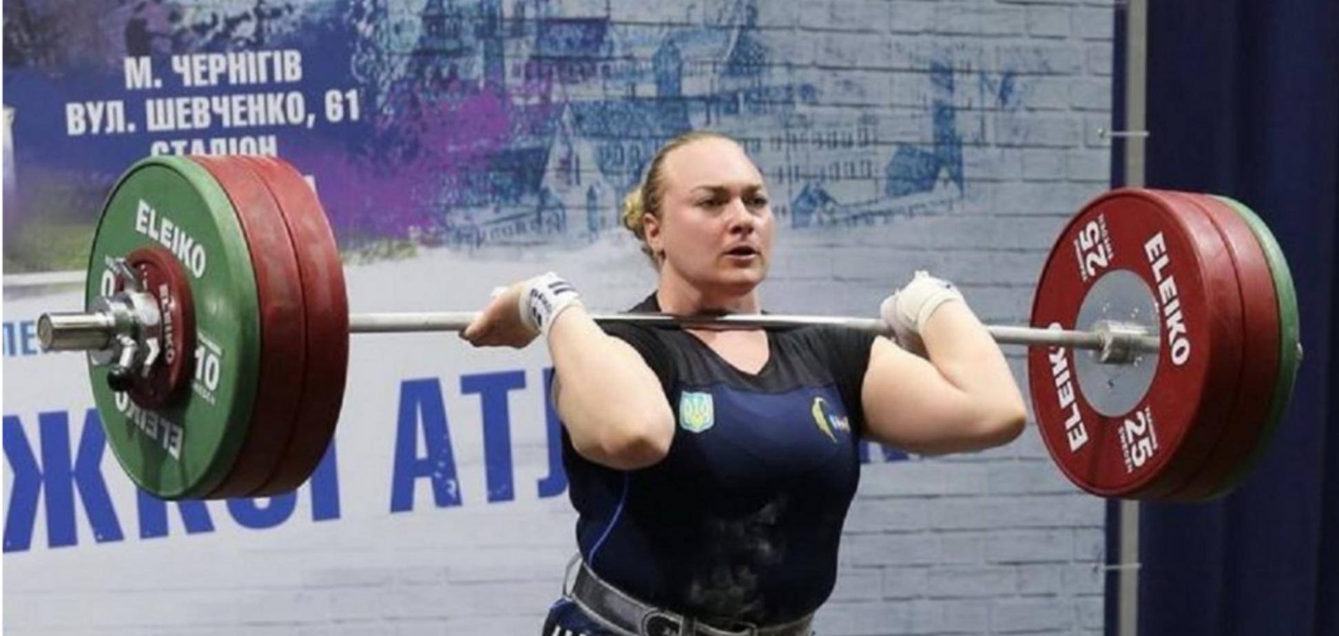 Найсильніша дівчина Європи Анастасія Лисенко