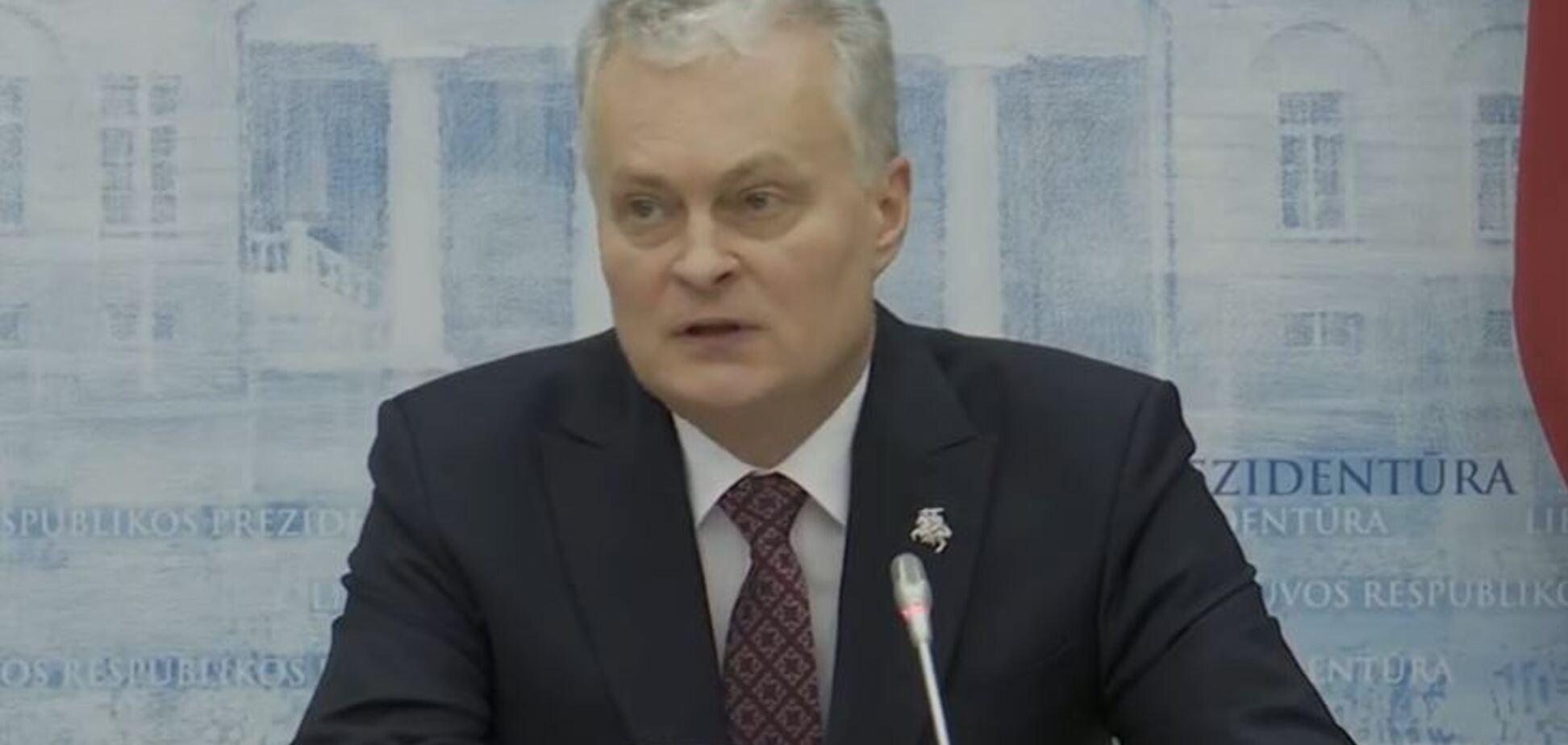 Президент Литви застеріг Зеленського від поступок Путіну