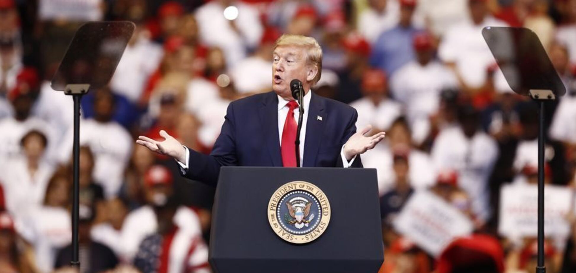 Трампа покликали на слухання щодо імпічменту: він відповів